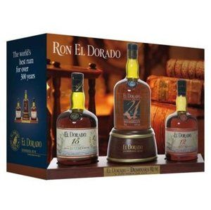 El Dorado Display 12yo, 15yo, 21yo 3×0,7l 40%