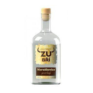 Meruňkovice Zubří 0,5l 50%