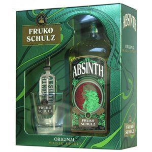 Fruko Shulz Absinth Magic 0,7l 70% + 1x sklo GB