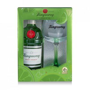 Tanqueray Traditional 0,7l 43,1% + 1x sklo GB