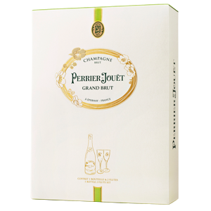 Perrier Jouët Grand Brut 0,75l 12,5% + 2x sklo GB