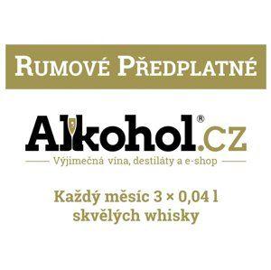 Rumové předplatné na 12 měsíců