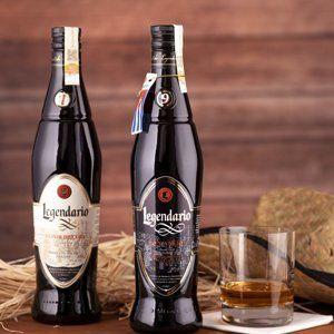 Legendario Elixir De Cuba 7y 34% & Aňejo 9y 40% 2×0,7l