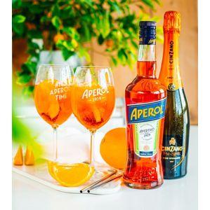 Aperol Aperitivo 0,7l 11% & Cinzano Pro-Spritz 0,75l 11,5%
