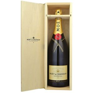 Moët & Chandon Imperial Brut 3l 12,5% Dřevěný box