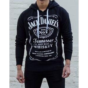 Jack Daniel's Mikina s Etiketou Pánská XL