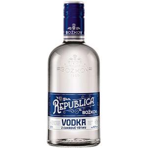 Božkov Republica Vodka z Cukrové Třtiny 0,7l 40%